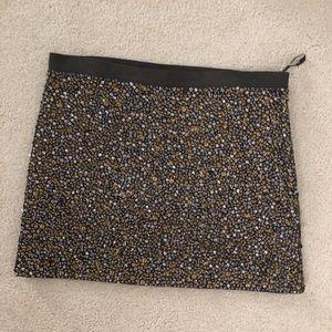Haute Hippie beaded skirt